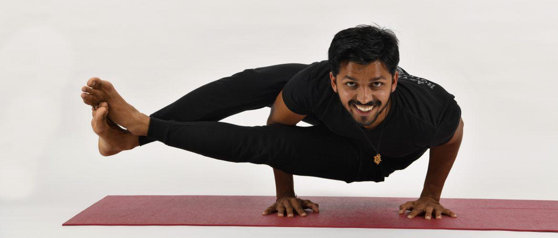 Private yoga classes Ljubljana with Tarun Sharma